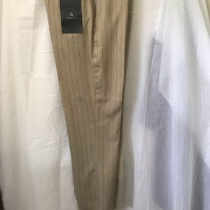 Claiborne Men 32 30 NW Tags Beige Dress Pants